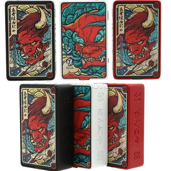 Vapelustion Hannya Box Mod