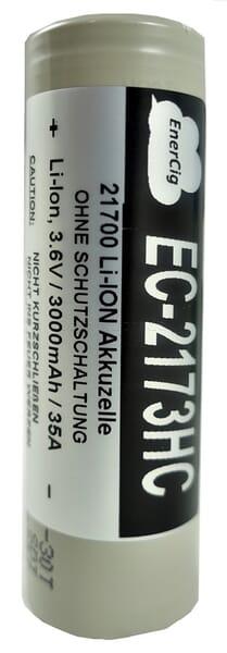 Enercig - EC-2173HC - INR - 21700 - 3000mAh