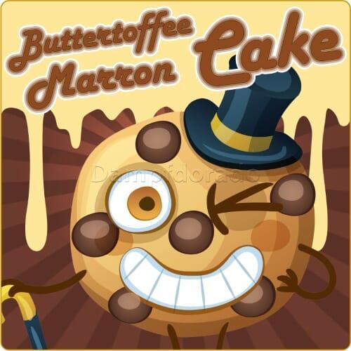 Aroma Buttertoffee Marron Cake