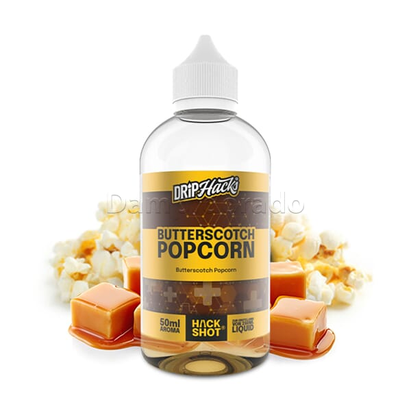 Aroma Butterscotch Popcorn - Drip Hacks