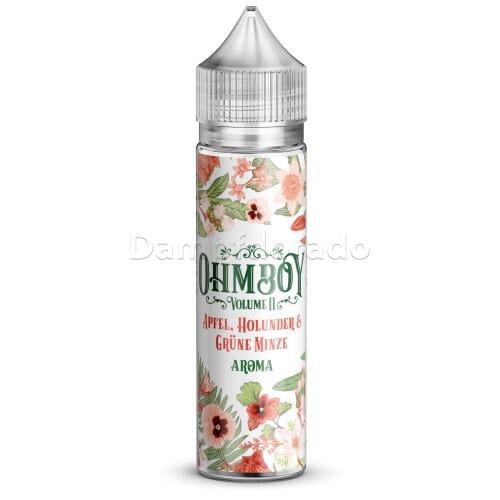 Aroma Apfel, Holunderblüten & Minze