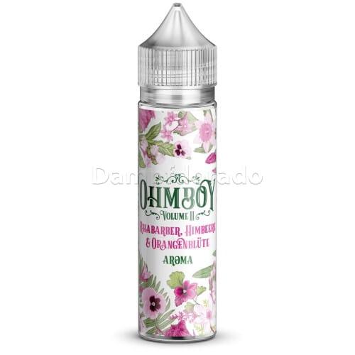 Aroma Rhabarber, Himbeere & Orangenblüte