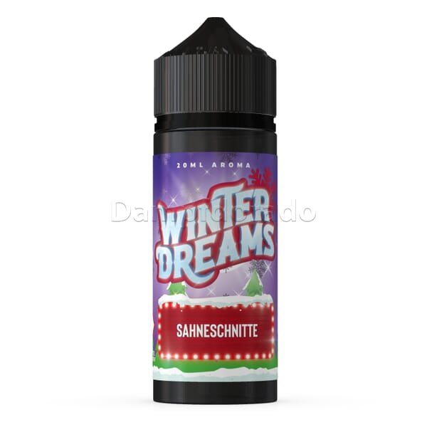 Aroma Winter Dreams - Sahneschnitte