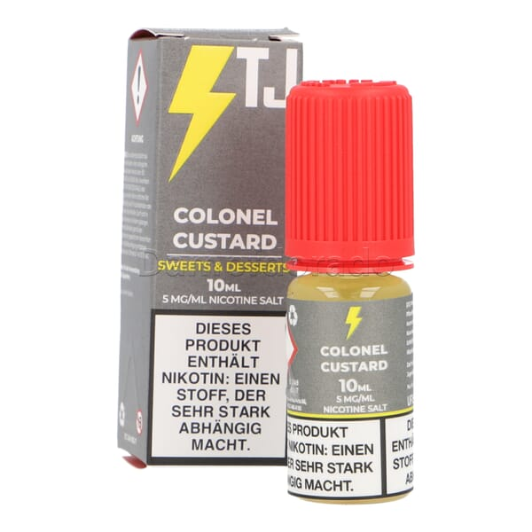 Liquid Colonel Custard - T-Juice Nikotinsalz