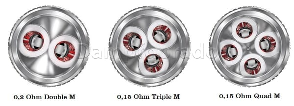 3 FreeMax M Pro Coils
