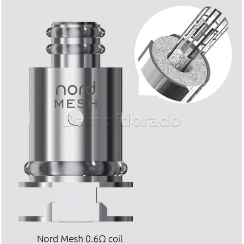 5 Smok Nord Coils