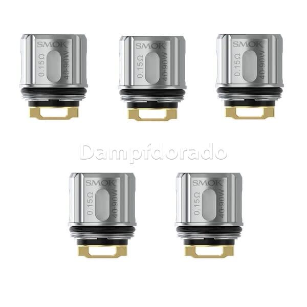 5 SMOK TFV9 Coils