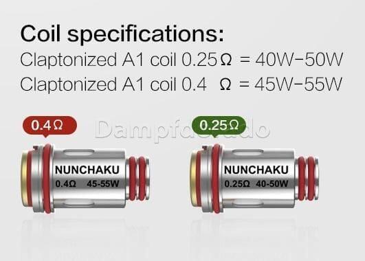 4  Uwell Nunchaku Coils