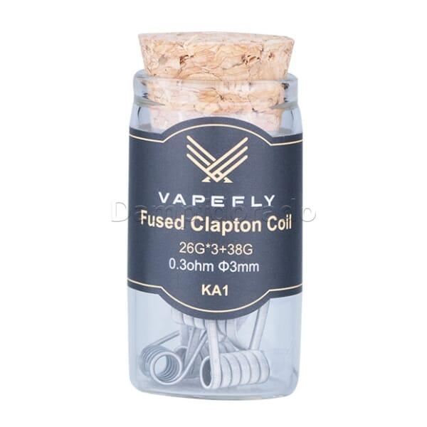 6 x Vapefly KA1 Fused Clapton Coils
