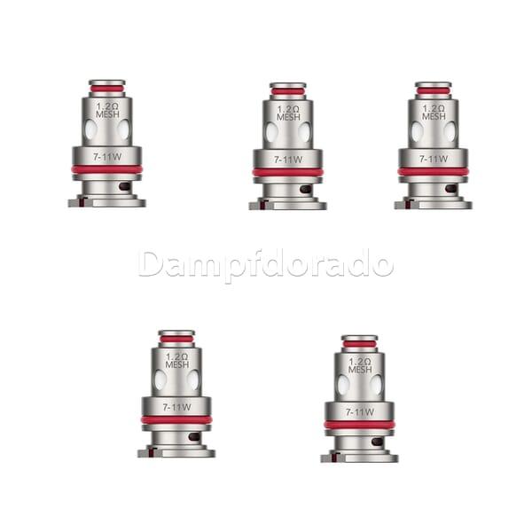 5 Vaporesso GTX Coils