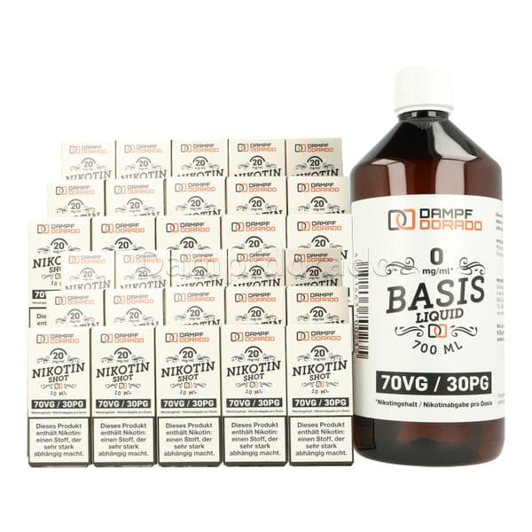 Basisliquid 1 Liter 70/30 Base 3mg/6mg