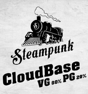 Steampunk Cloudbase - 1 Liter 80VG 20PG