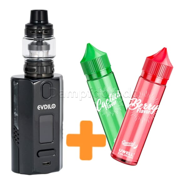 AKTION Uwell Evdilo Kit inkl. zwei Caliburn Aromen