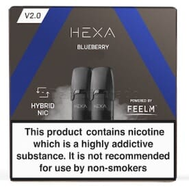 Liquidpod Blueberry - Hexa V2 Pods (2er Pack)