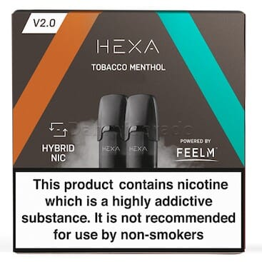 Liquidpod Tobacco Menthol - Hexa V2 Pods (2er Pack)