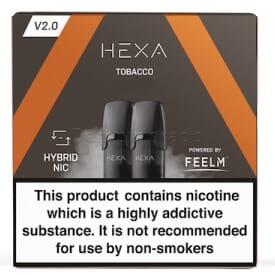 Liquidpod Tobacco - Hexa V2 Pods (2er Pack)