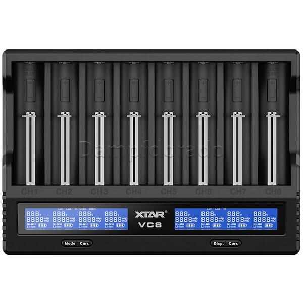 XTAR VC8 Ladegerät