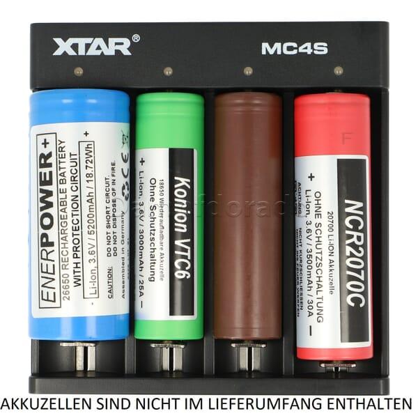 XTAR MC4S Ladegerät