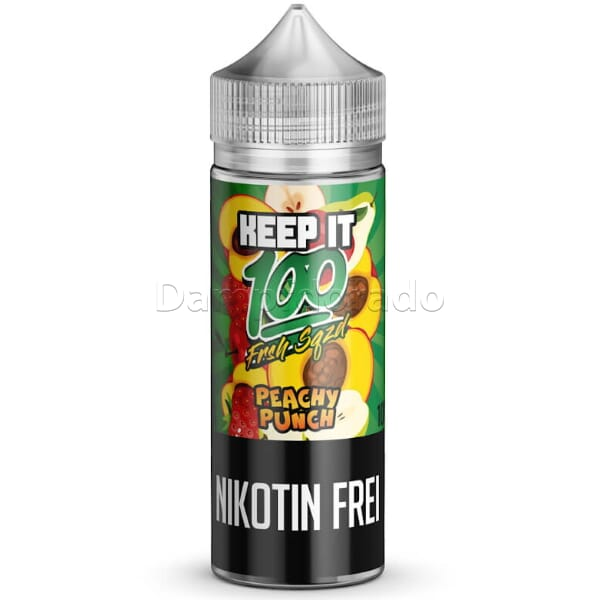 Liquid Peachy Punch - Keep it 100 - 100ml/120ml