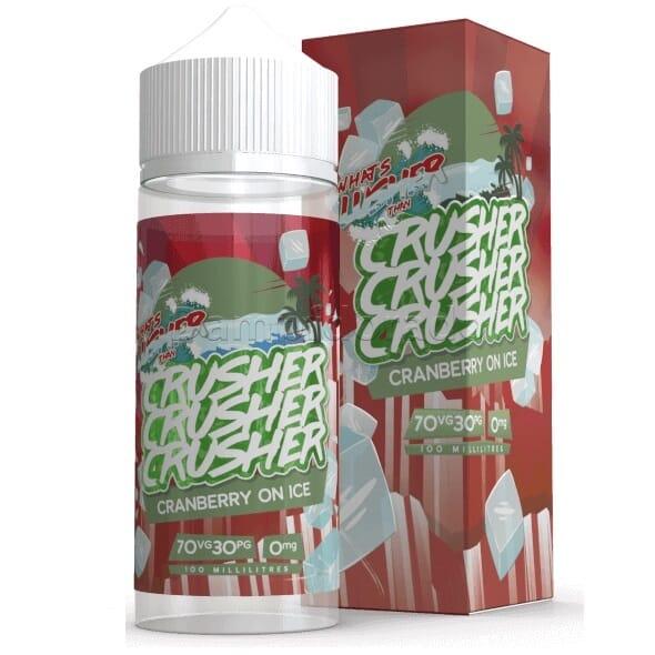 Liquid Cranberry on Ice - Crusher 100ml/120ml