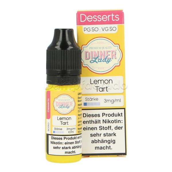 Liquid Lemon Tart - Dinner Lady