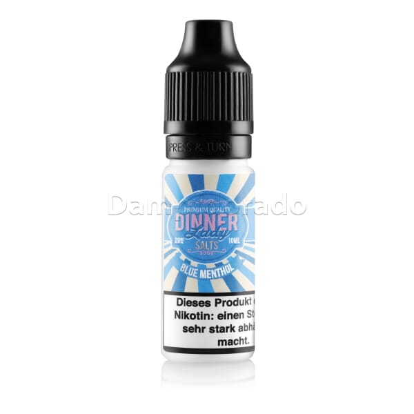 Liquid Blue Menthol   - Dinner Lady Nikotinsalz