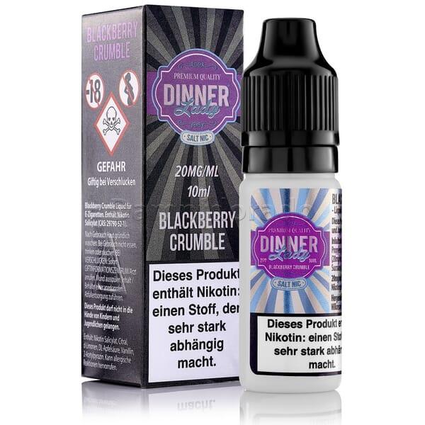 Liquid Blackberry Crumble - Dinner Lady Nikotinsalz