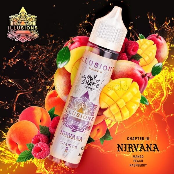 Liquid Nirvana - Illusions Vapor 50ml/60ml