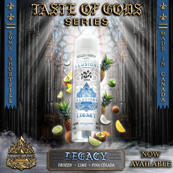 Liquid Legacy - Illusions Vapor - 50ml/60ml