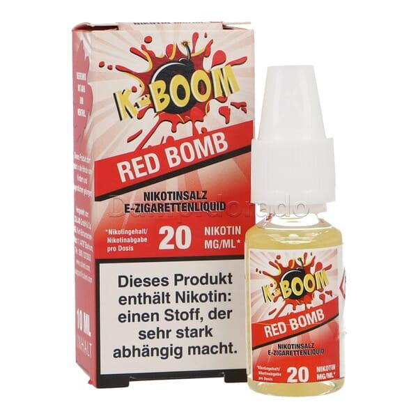 Liquid Red Bomb - K-Boom Nikotinsalz