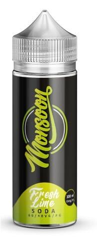 Liquid Fresh Lime Soda - Monsoon 100ml/120ml