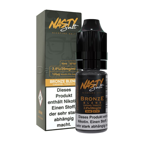 Liquid Bronze Blend - Nasty Juice Nikotinsalz