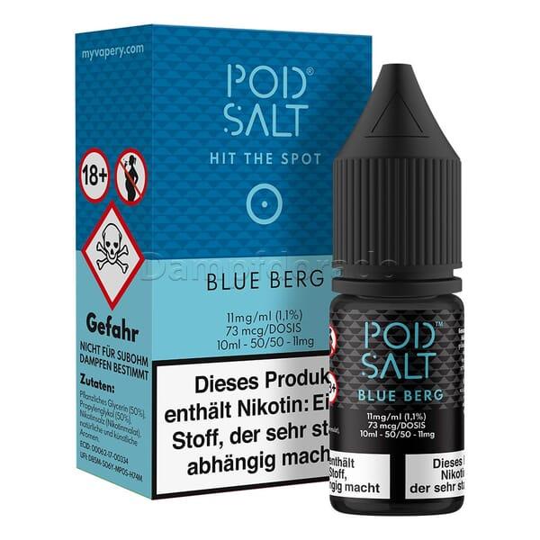 Liquid Blue Berg - Pod Salt Nikotinsalz