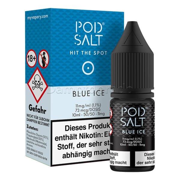 Liquid Blue Ice - Pod Salt Nikotinsalz