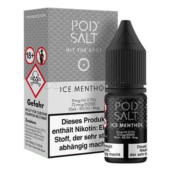 Liquid Ice Menthol - Pod Salt Nikotinsalz