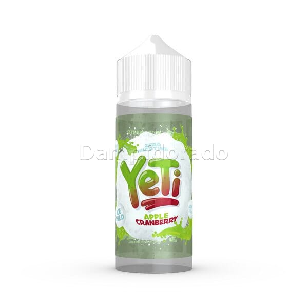 Liquid  Apple Cranberry - Yeti 100ml/120ml