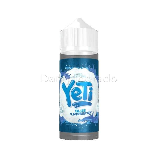Liquid Blue Raspberry - Yeti 100ml/120ml
