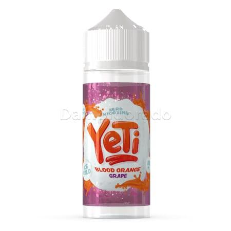 Liquid Blood Orange Grape - Yeti 100ml/120ml