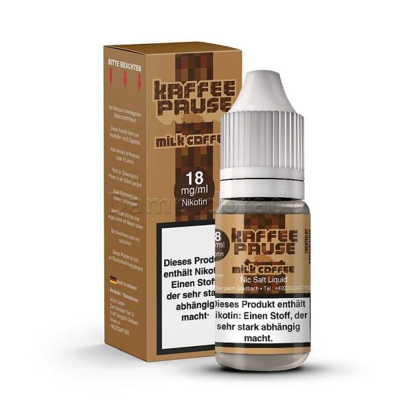 Liquid Milk Coffee - Steamshots Nikotinsalz