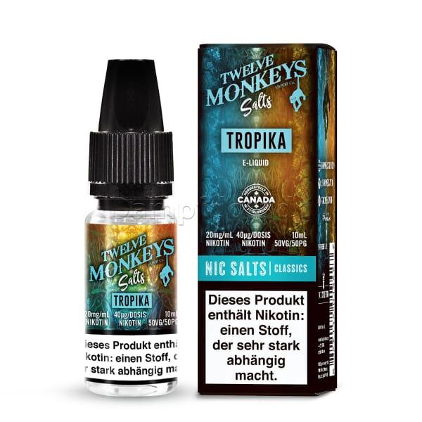 Liquid Tropika - Twelve Monkeys Nikotinsalz