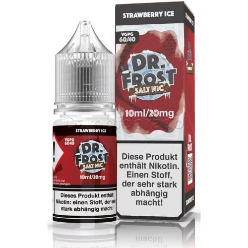 Liquid Strawberry Ice - Dr. Frost Nikotinsalz