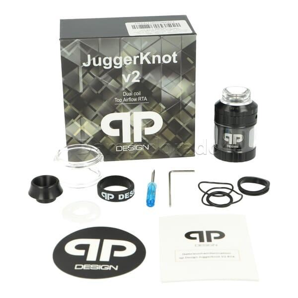 qp Design Juggerknot V2 RTA Verdampfer