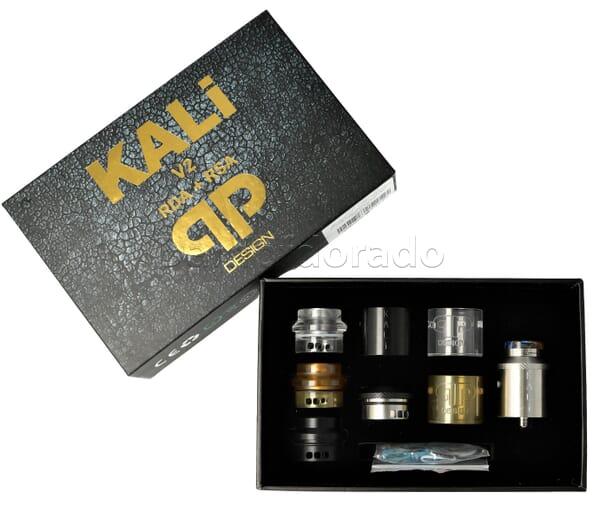 qp Design Kali V2 RDA/RSA Master Kit