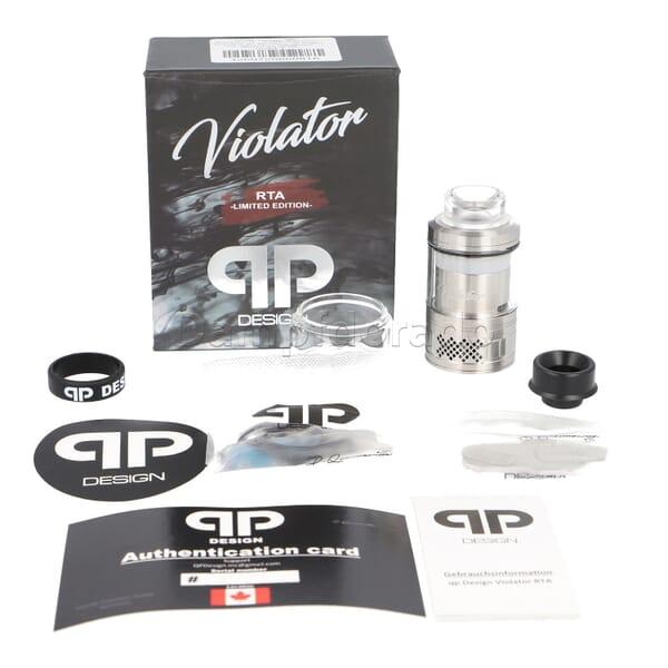 qp Design Violator RTA Verdampfer