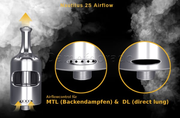 Aspire Nautilus 2S Verdampfer