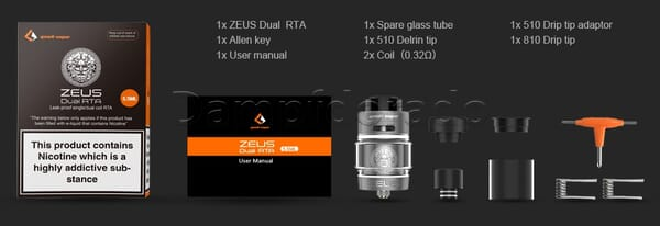 GeekVape Zeus Dual RTA Verdampfer