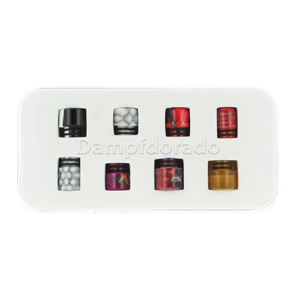Aleader - 510er Drip Tip Kit - 8 in 1 Box