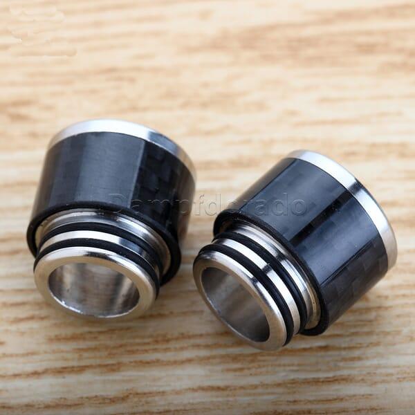 810er Carbon + Edelstahl Drip Tip