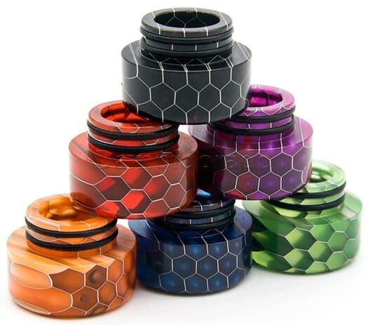 810er Resin Drip Tip Honeycomb - Typ kurz
