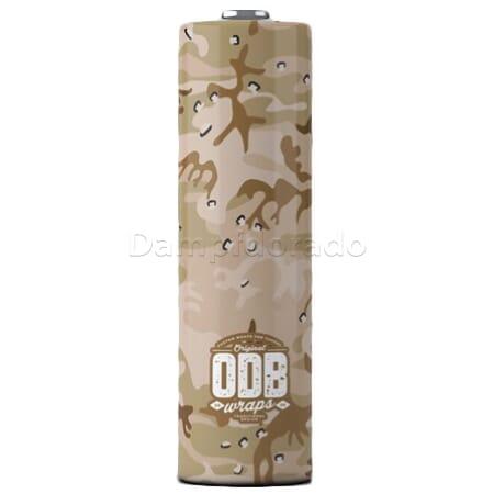 4 x ODB Schrumpfschlauch für 18650er Akku